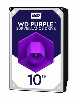 "Western Digital (WDC) 10TB 7.200 rpm 3.5"" SATA Surveillance HDD Purple"