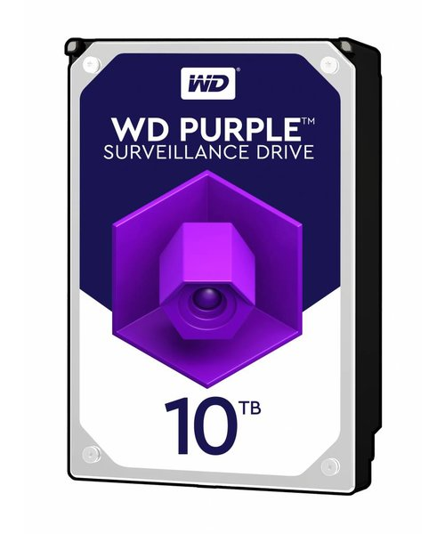 "Western Digital (WDC) 10TB 7.200 rpm 3.5"" SATA Surveillance HDD Purple"