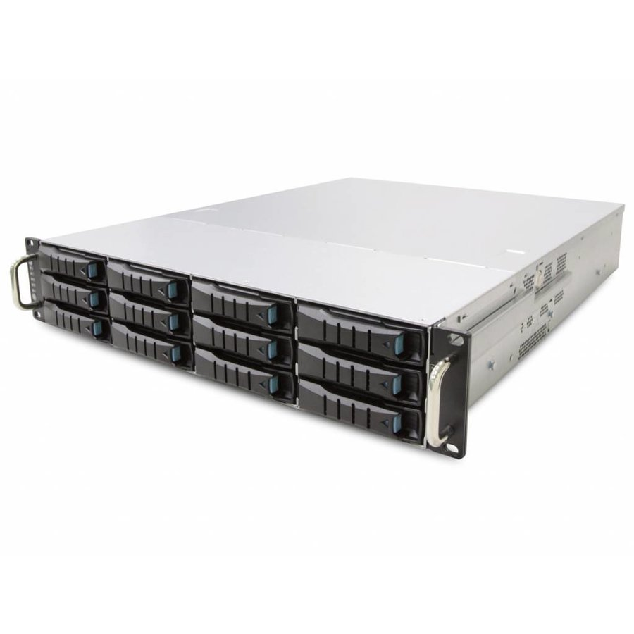 "19"" 2U - 12 Bay Hot Swap Server - 680mm - 120TB"