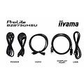 IIyama 4K-LED 1ms max. 3840x2160 300cd/m² 20Mio:1 ACR VGA 2xHDMI DisplayPort HDCP Headphone Jack Speaker USB FreeSync Technology
