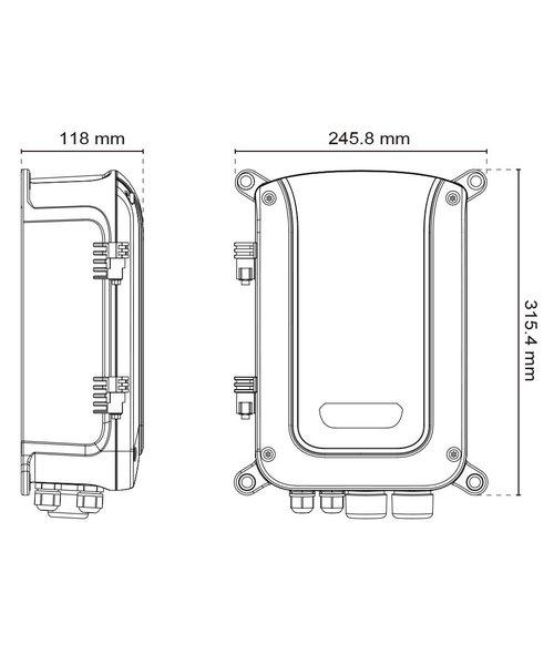 Aetek Outdoor 4*60W PoE, 2*SFP, 2*RJ45 L2 Plus Managed Switch