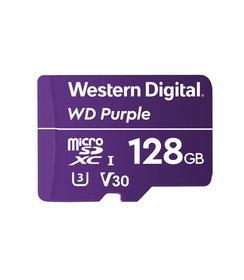 128GB Purple microSD Card