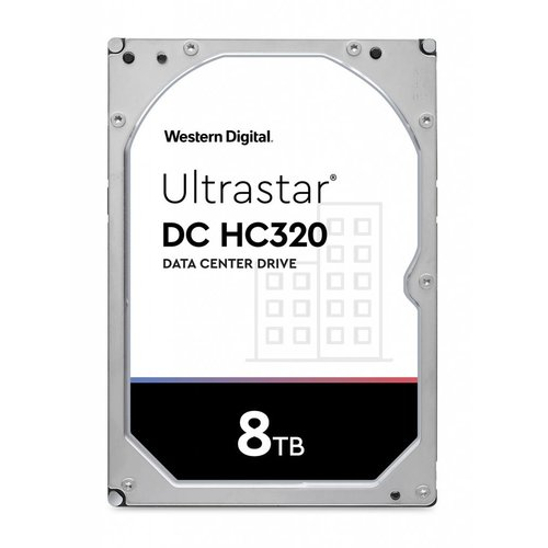 "Western Digital (WDC) Ultrastar 8TB 7.200 rpm 3.5"" SATA Enterprise HDD 24/7"