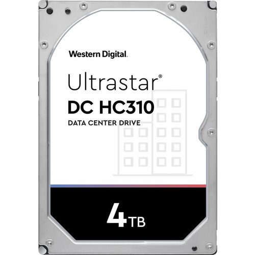Western Digital (WDC) Ultrastar 4TB 7.200 rpm 3.5 SATA Enterprise HDD 24/7
