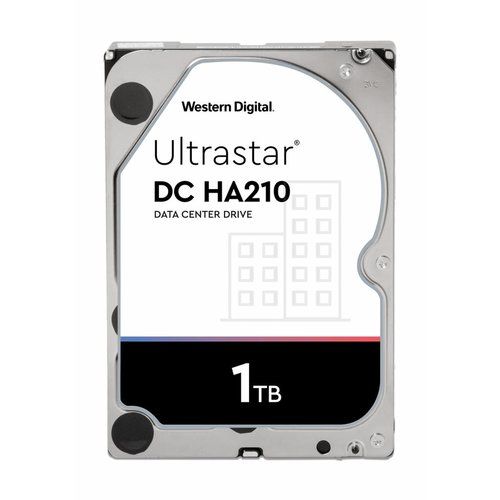 Western Digital (WDC) Ultrastar 1TB 7.200 rpm 3.5 SATA Enterprise HDD 24/7