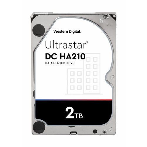 Western Digital (WDC) Ultrastar 2TB 7.200 rpm 3.5 SATA Enterprise HDD 24/7