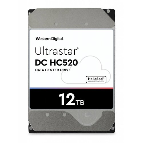 "Western Digital (WDC) Ultrastar 12TB 7.200 rpm 3.5"" SATA Enterprise HDD 24/7"