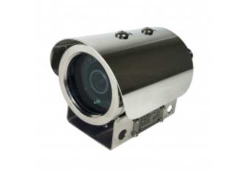 Smart Cloud 2MP CMOS 30FPS, EXPLOSION PROOF CAMERA, 2.8-12MM MOTORIZED LENS,IP69K, IK10, POE/DC12V3.6X AF LENS