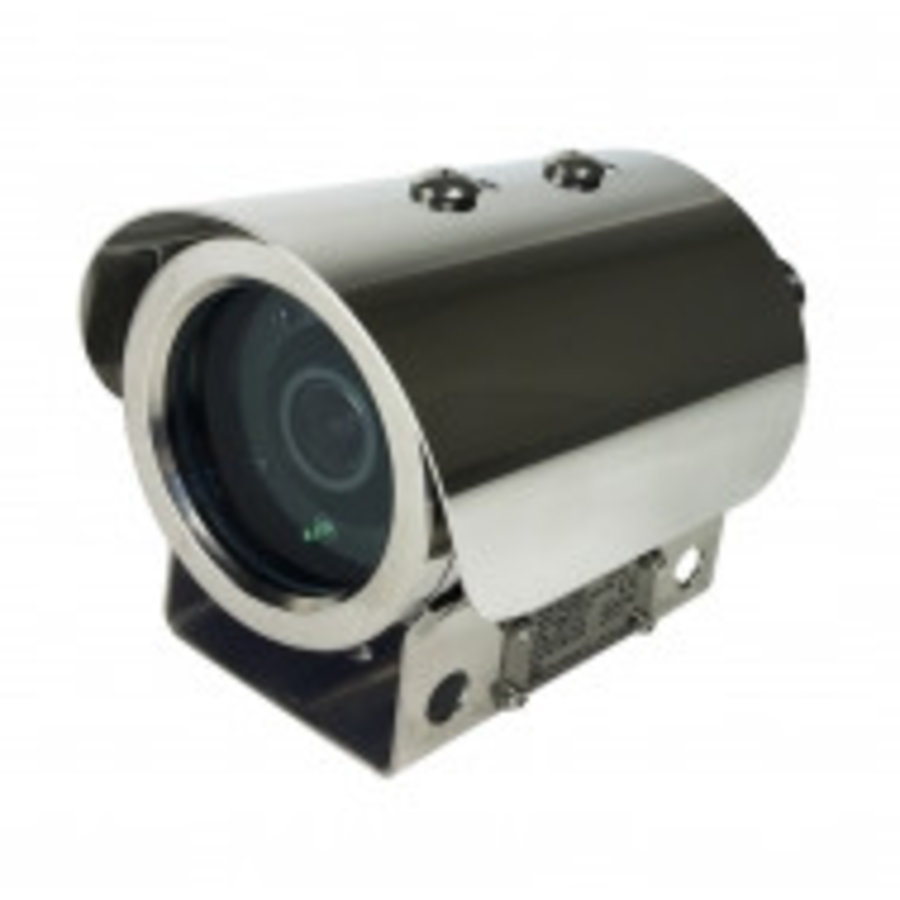2MP CMOS 30FPS, EXPLOSION PROOF CAMERA, 2.8-12MM MOTORIZED LENS,IP69K, IK10, POE/DC12V3.6X AF LENS