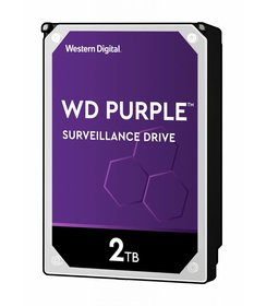 "2TB Purple 3.5"" SATA Surveillance HDD"