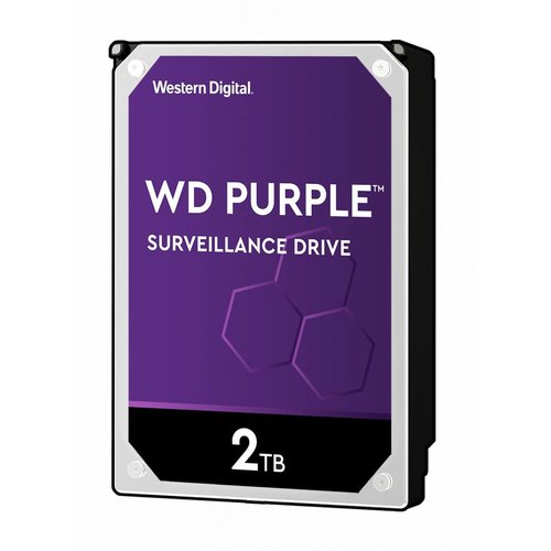 "Western Digital (WDC) 2TB Purple 3.5"" SATA Surveillance HDD"