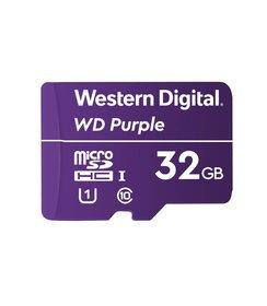 32GB Purple microSD Card
