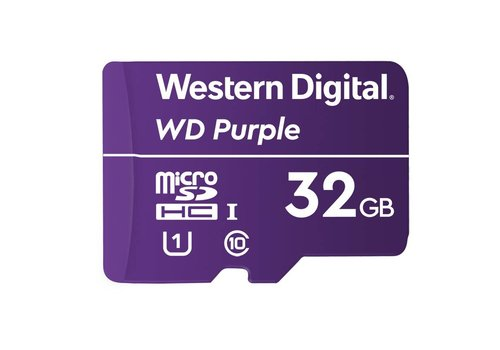 Western Digital (WDC) 32GB Purple microSD Card