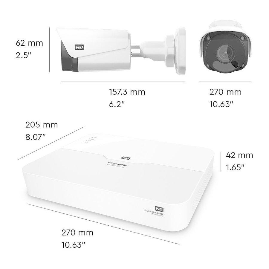 ReadyView™ 2MP Surveillance System Bundle