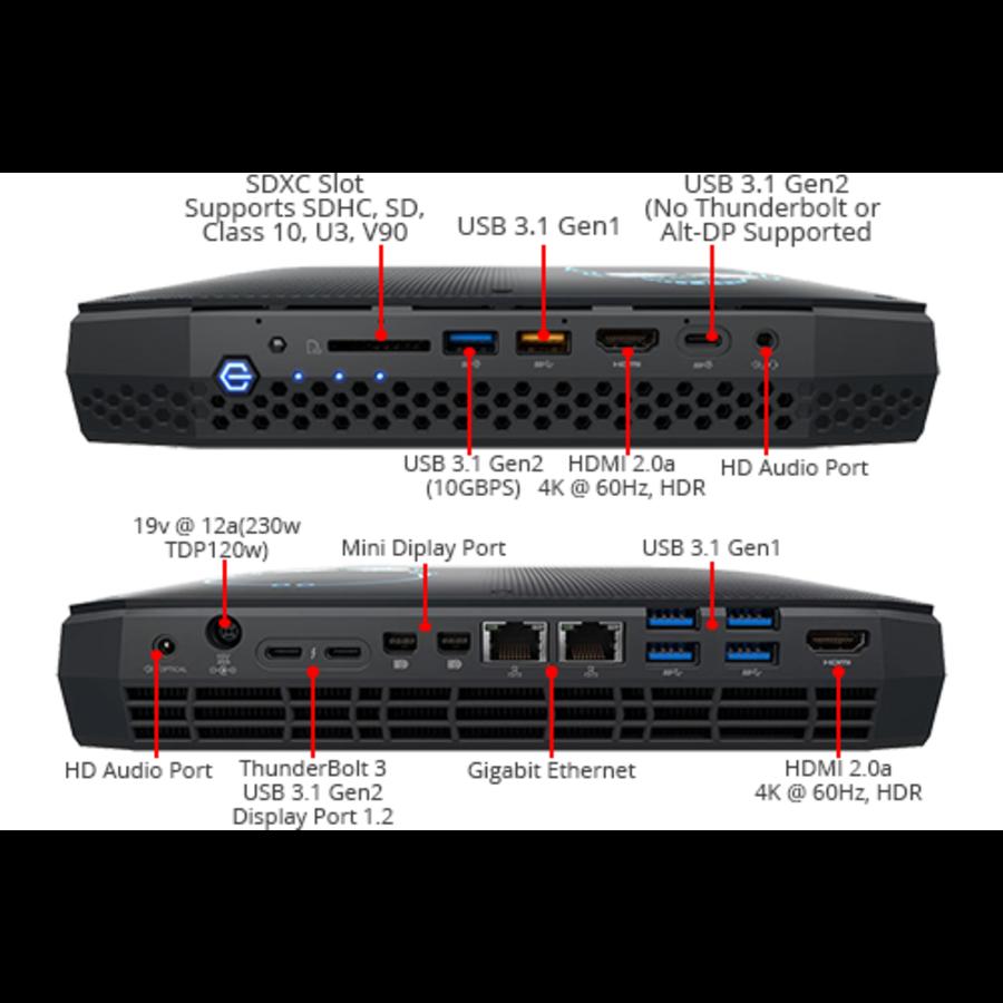 NUC Intel Core i7-8705G Radeon RX Vega M GL Graphics