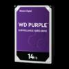 "Western Digital (WDC) 14TB  Purple 7.200 rpm 3.5"" SATA Surveillance HDD"