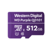 Western Digital (WDC) 512GB Purple microSD Card