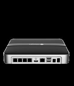 MS-N1004-UPC, NVR, 4CH + 4 x PoR