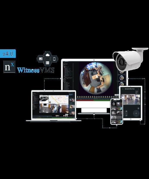 Smart Security NFR Unit met 4 camera licenties
