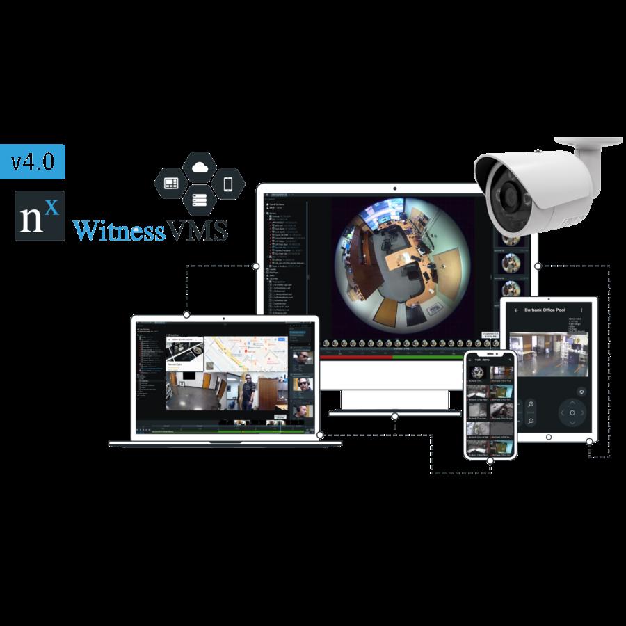 NFR Unit met 4 camera licenties