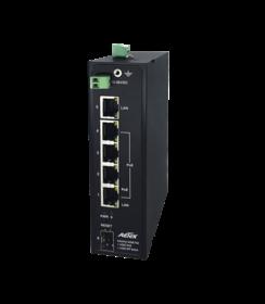 Industrial Gigabit 12V~56VDC Input PoE Switch