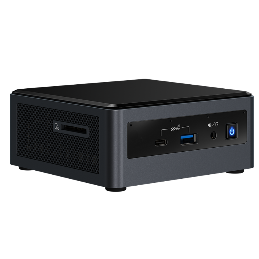 VMS Client Intel® NUC I7 H incl HDD - Windows 10 Pro