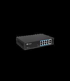 MS-S0208-GL - PoE 8 X 10/100 Mbps + 2 x Uplink Gigabit