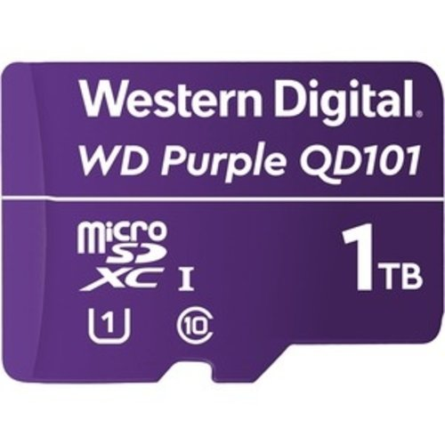 Western Digital (WDC) Purple  1TB Class 10/UHS-I (U1) microSDXC