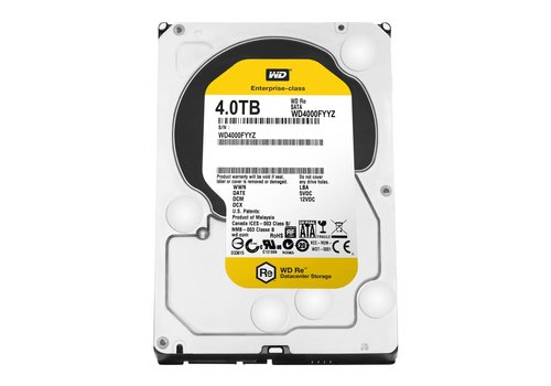 "Western Digital (WDC) 4TB 7.200 rpm 3.5"" SATA 6GB/S RE"