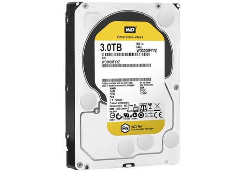 "Western Digital (WDC) 3TB 7.200 rpm 3.5"" SATA 6GB/S RE"
