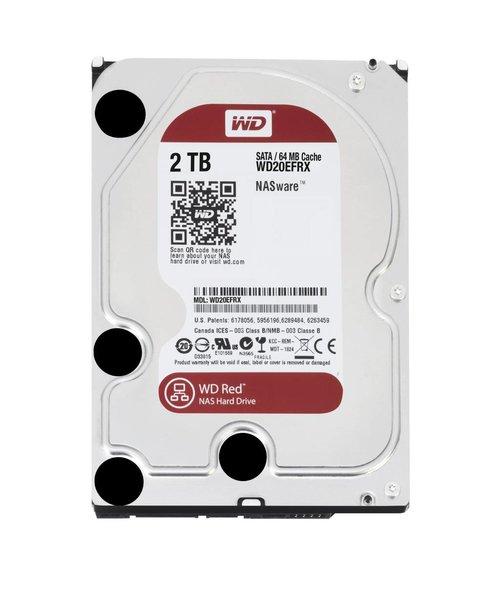 """Western Digital (WDC) 2TB IntelliPower 3.5"""" SATA 6 Gb/s RED"""
