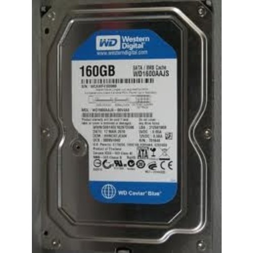"Western Digital (WDC) 160GB 7.200 rpm 3.5"" SATA"
