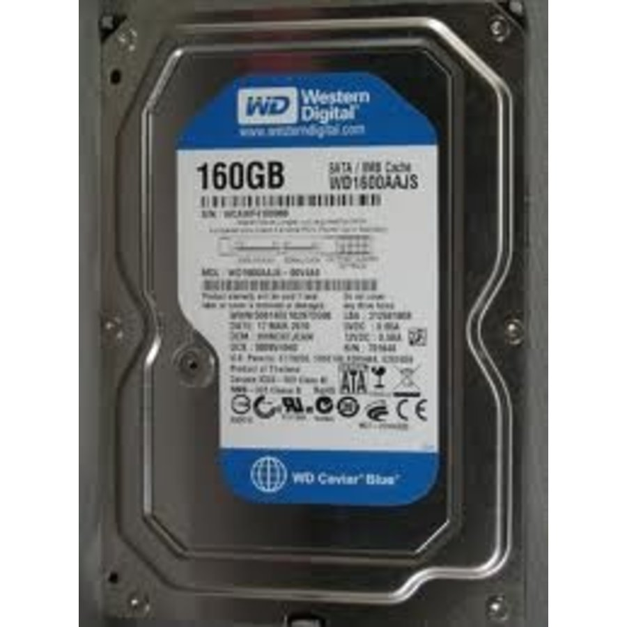 "160GB 7.200 rpm 3.5"" SATA"