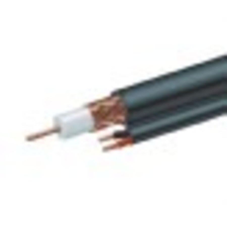 RG59 coaxial + power cable, 300 m