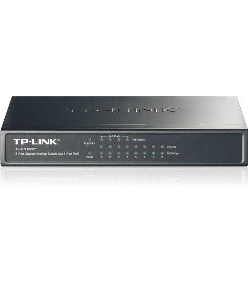 TP-Link 8 Port 10/100/1000 (4) PoE - 53W - Desktop