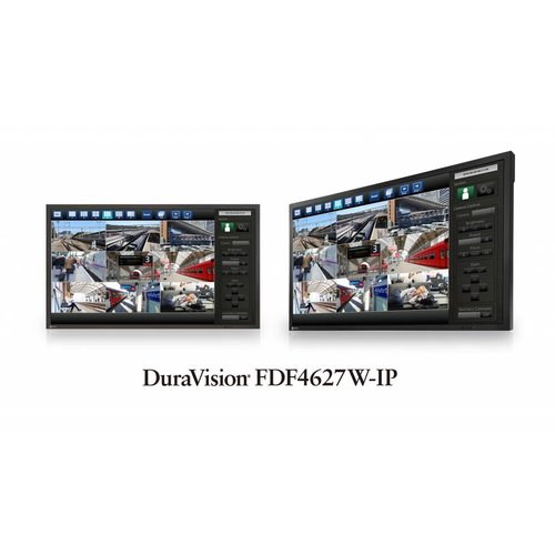 "EIZO 46"" IP Security Monitor- DuraVision"