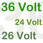 Fietsaccu zoeken op voltage