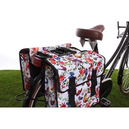 Basil Dubbele fietstas Mara XL Double Bag Meadow