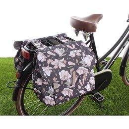 Basil Dubbele fietstas Magnolia Double bag 35L Pastel powders