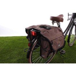 Willex Dubbele fietstas Bagagetas 1200 28L Bruin