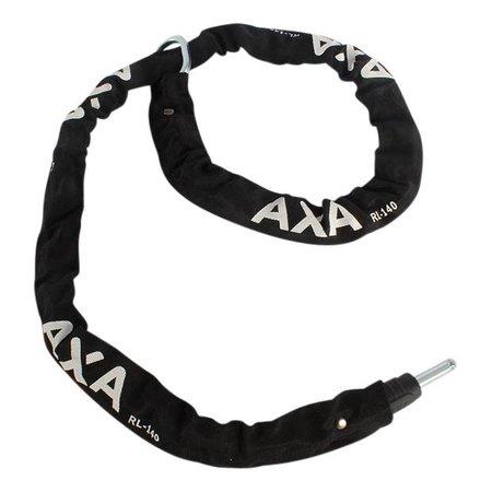 AXA Insteekketting RLC 140cm (zwart) met zadeltas