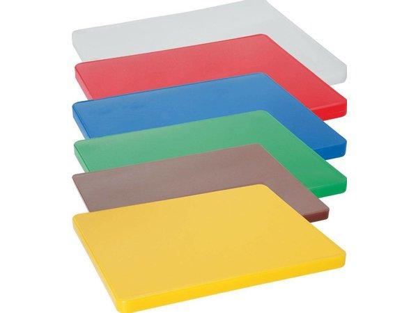 Hendi Snijplanken HACCP - 600x400x20mm - Kies uit 6 kleuren