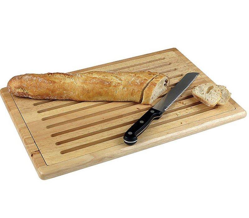Hendi Snijplank met uitn.raster hout - +4 antislip voetjes 475x322 mm