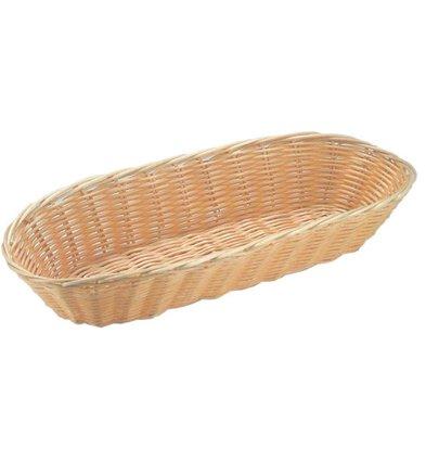 Hendi Bread Basket Oval - Poly Rattan - Set of 3 - 375x150x (h) 75mm