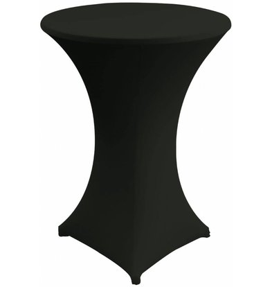 Unicover Table Cover Stretch Venus (Body + Top) | black | Available in 3 sizes