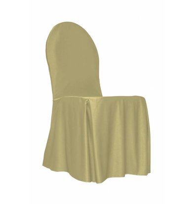 Unicover Banquet Chair Cover | One Size | Cream