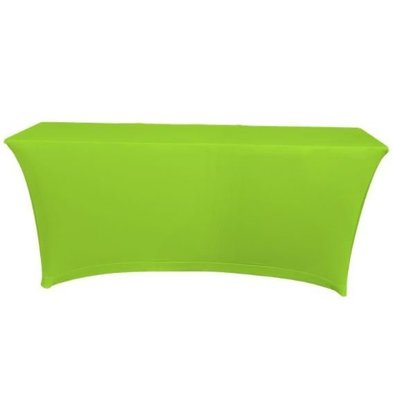 Unicover Table cover Saturn Stretch Rectangle | Available in two sizes | Light green