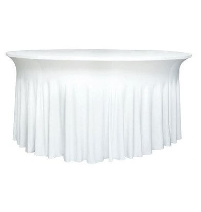Unicover Table Cover Stretch Deluxe | white | Available in 3 sizes