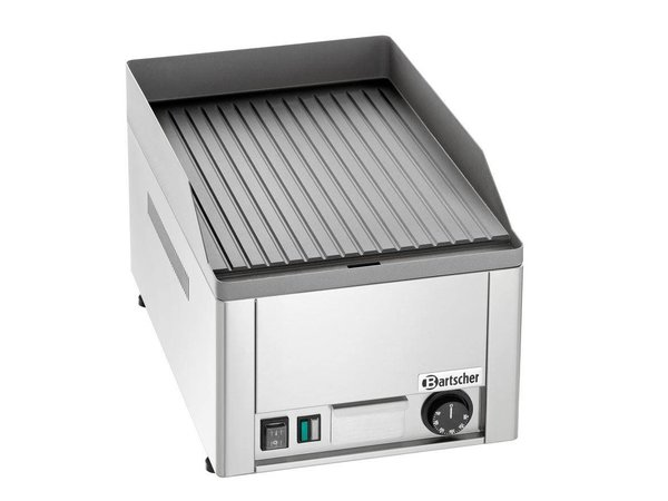 Bartscher Elektrische grillplaat, geribbeld, 320x480mm