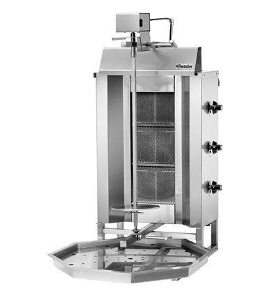 Bartscher Doner grill 40kg, gas